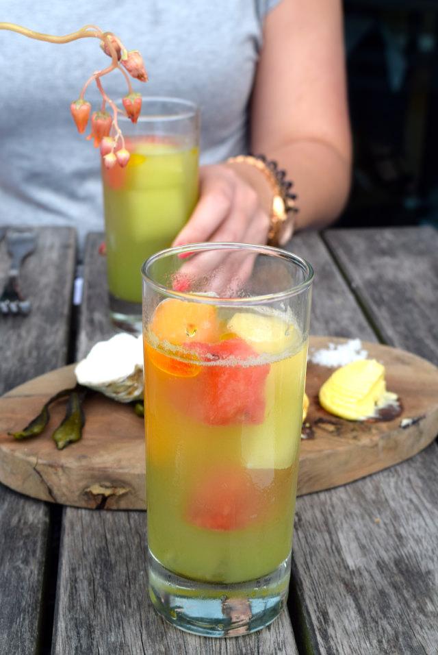 Gin Mare Melon Cocktails at Rocksalt, Folkestone | www.rachelphipps.com @rachelphipps