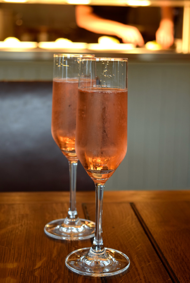 Chapel Down Sparkling Rose Wine at The Corner House, Canterbury | www.rachelphipps.com @rachelphippps