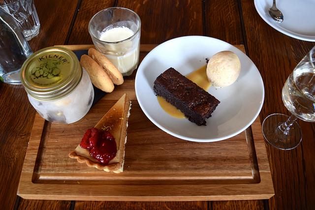 Dessert Sharing Platter at The Corner House, Canterbury | www.rachelphipps.com @rachelphipps