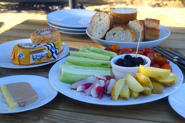 Cold Summer Supper in Brittany | www.rachelphipps.com @rachelphipps