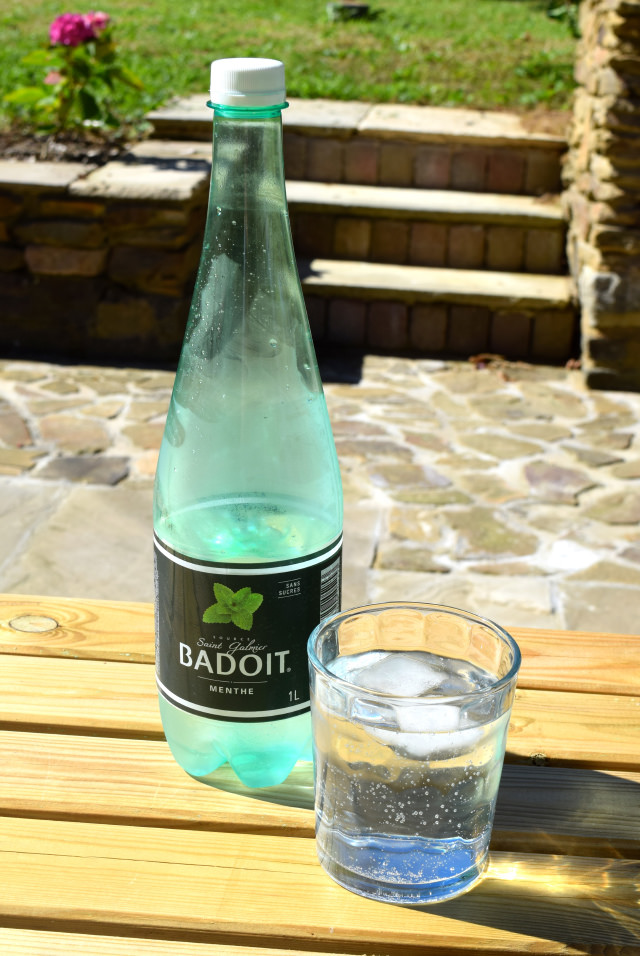 Mint Badoit French Sparkling Water | www.rachelphipps.com @rachelphipps