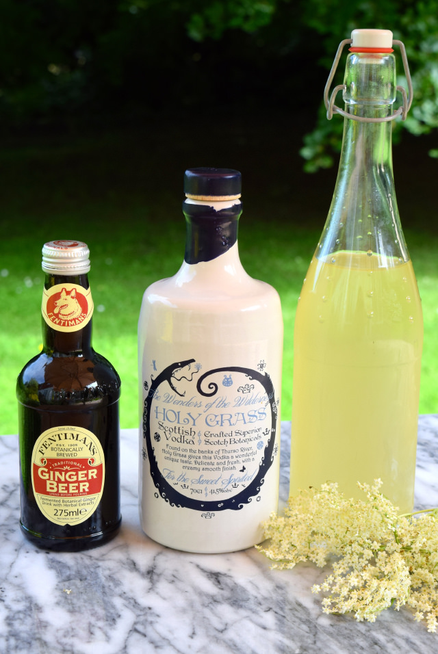 Elderflower Mule Ingredients | www.rachelphipps.com @rachelphipps