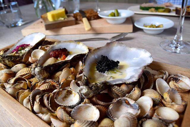 Oysters and Caviar at The Sportsman, Seasalter | www.rachelphipps.com @rachelphipps