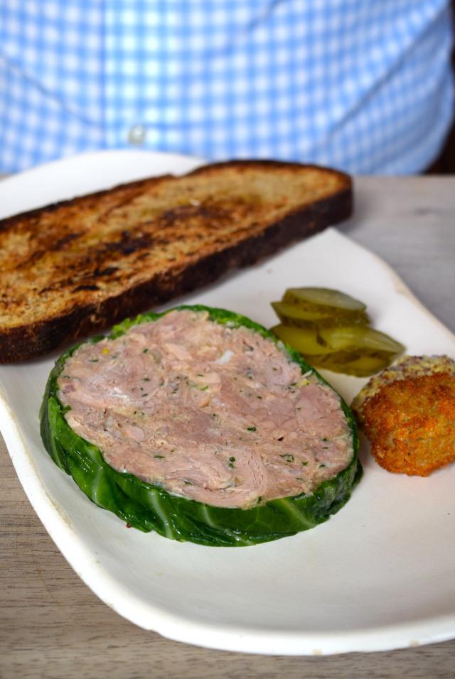 Pork Terrine at The Sportsman, Seasalter | www.rachelphipps.com @rachelphipps