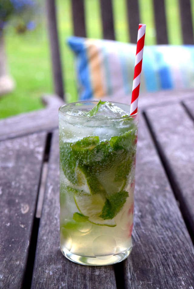 Mojitos on the Patio | www.rachelphipps.com @rachelphipps