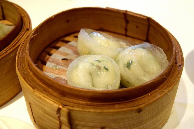 Scallop Dumplings at Royal China, Baker Street | www.rachelphipps.com @rachelphipps