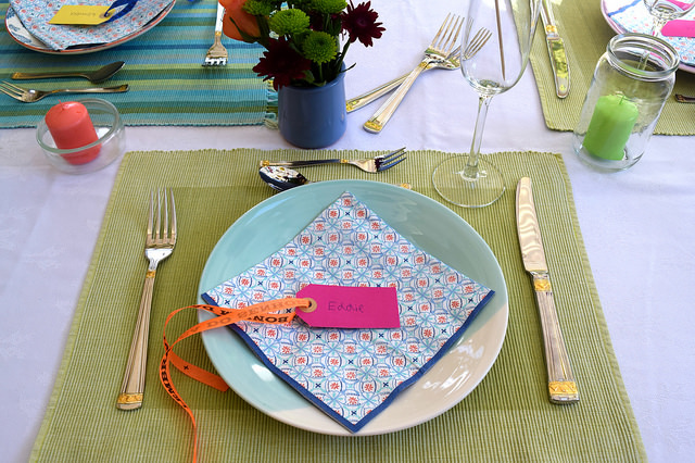 Brazilian Dinner Party Table Setting | www.rachelphipps.com @rachelphipps