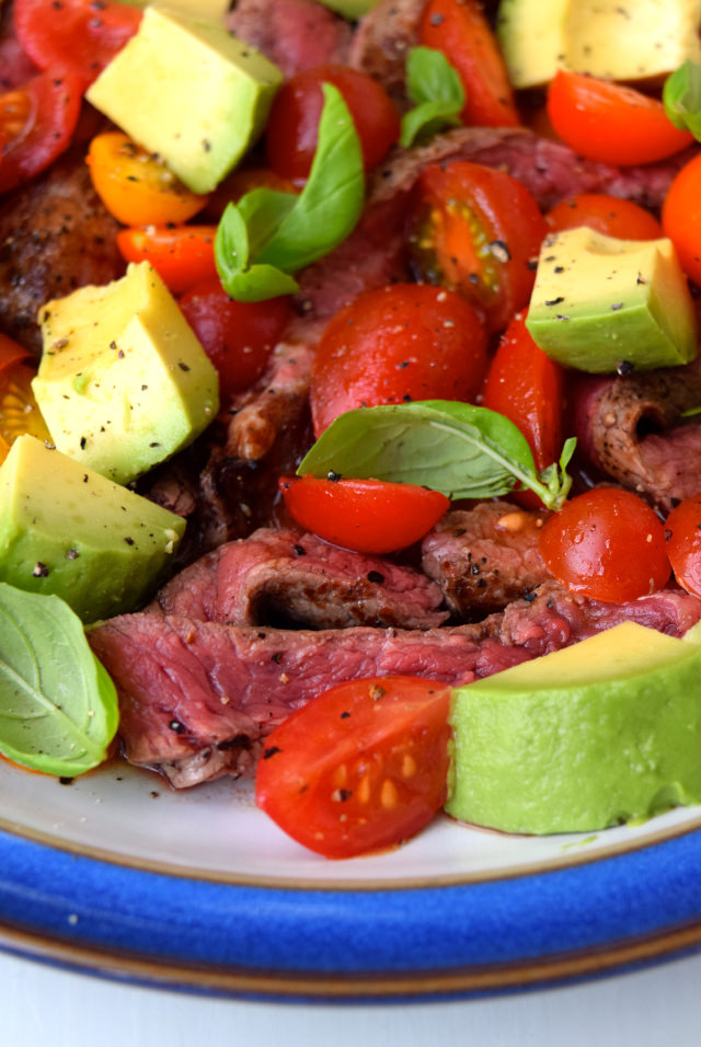 Bloody Mary Steak Plate | www.rachelphipps.com @rachelphipps