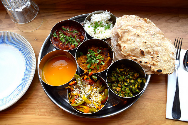North Indian Thali Class at the Jamie Oliver Cookery School | www.rachelphipps.com @rachelphipps