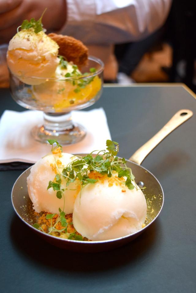 Frozen Desserts at The Palomar, Soho | www.rachelphipps.com @rachelphipps