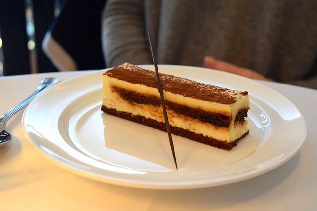 Tiramasu at Cafe Monico, Soho | www.rachelphipps.com @rachelphipps
