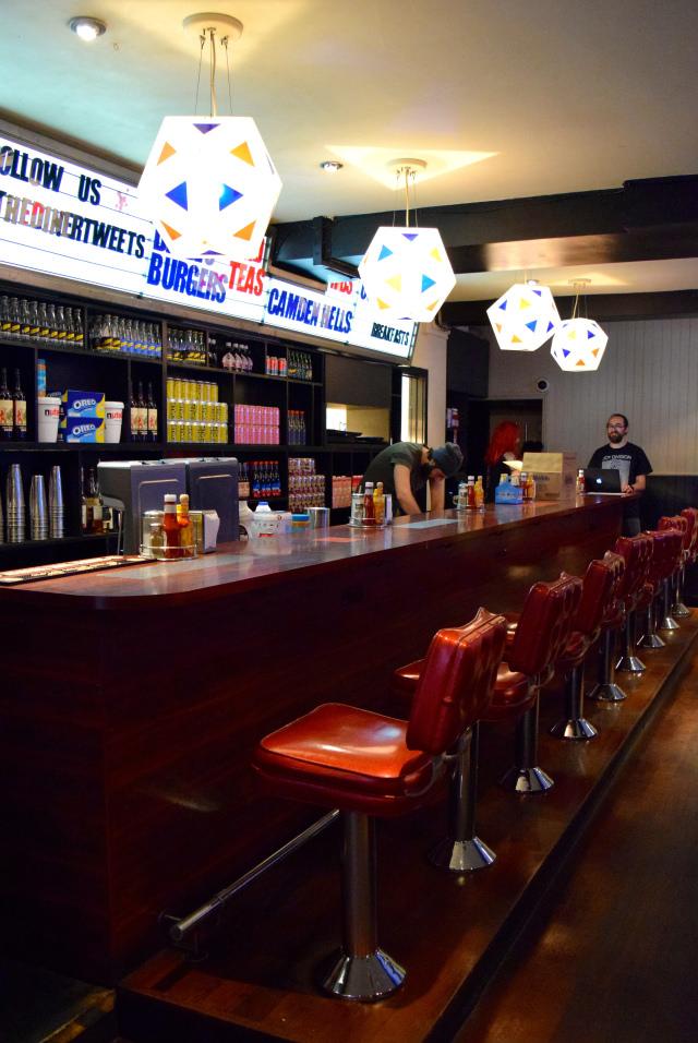 Milkshake Bar at The Diner, Soho | www.rachelphipps.com @rachelphipps