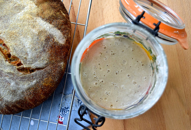 How To Make Your Own Sourdough Starter | www.rachelphipps.com @rachelphipps