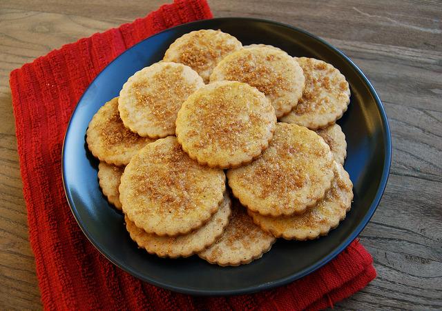 Orange Festive Spiced Biscuits | www.rachelphipps.com @rachelphipps