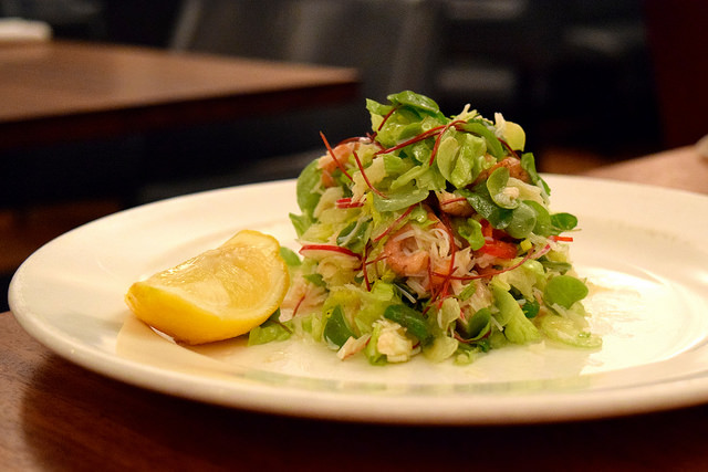 Brown Shrimp & Crab Salad at Hawksmoor, Knightsbridge | www.rachelphipps.com @rachelphipps