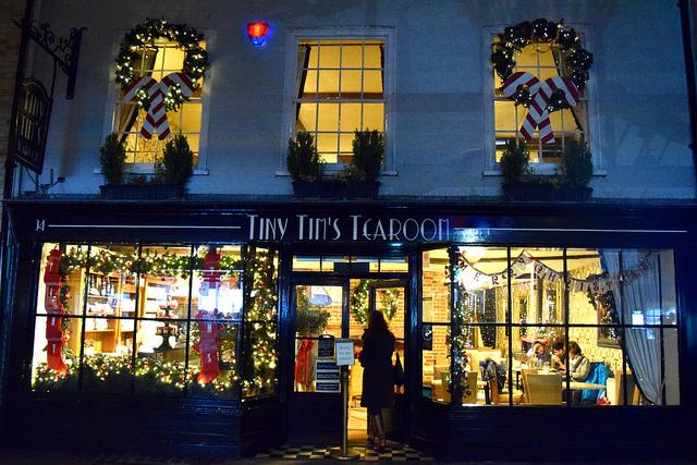 Tiny Tim's Christmas Window 2016, Canterbury | www.rachelphipps.com @rachelphipps
