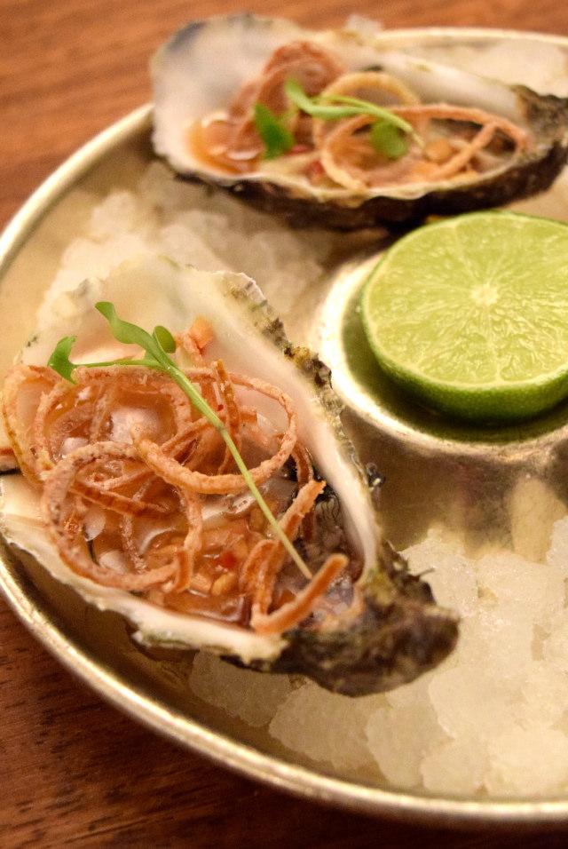 Vietnamese Oysters at Hawksmoor, Knightsbridge | www.rachelphipps.com @rachelphipps