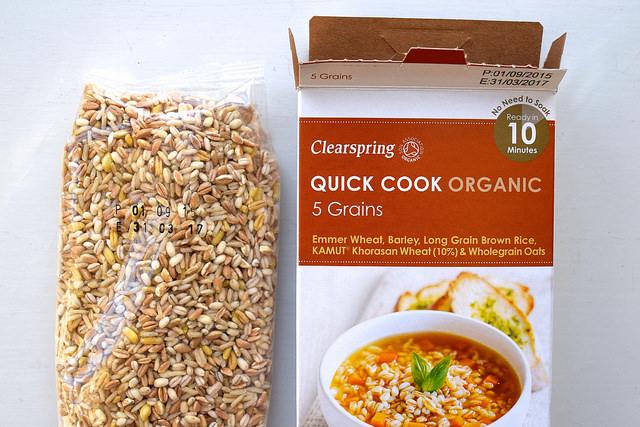 Clearspring Quick Cook Grains | www.rachelphipps.com @rachelphipps