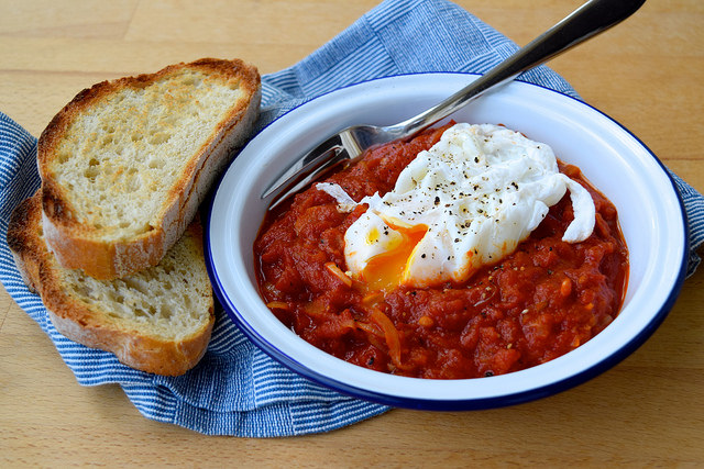 Madeiran Tomato and Onion Stew | www.rachelphipps.com @rachelphipps