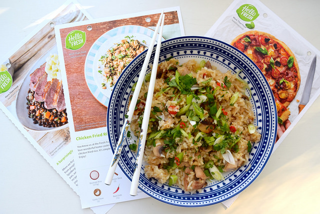 Reviewing the HelloFresh Recipe Box | www.rachelphipps.com @rachelphipps