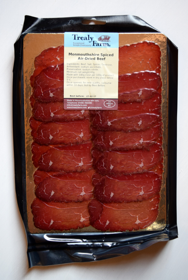 Spiced Air Dried Beef from the Gourmet Meat Club | www.rachelphipps.com @rachelphipps