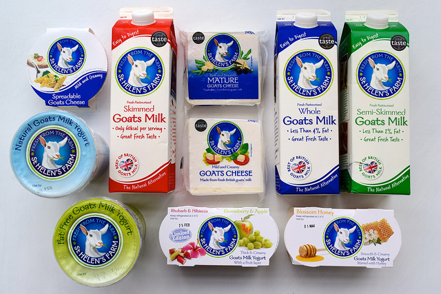 St. Helen's Farm Goat Dairy Product Range | www.rachelphipps.com @rachelphipps