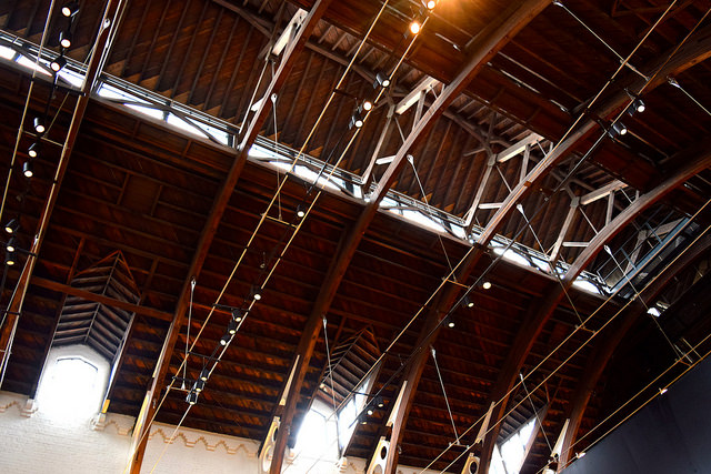 Ceiling of the German Gymnasium, King's Cross | www.rachelphipps.com @rachelphipps