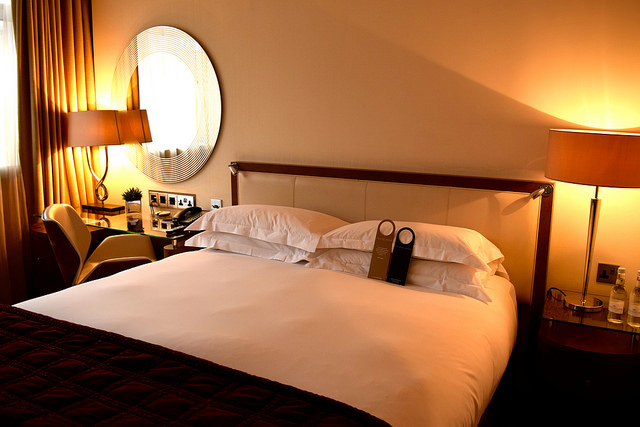 Superior Room at The Marylebone Hotel, London | www.rachelphipps.com @rachelphipps