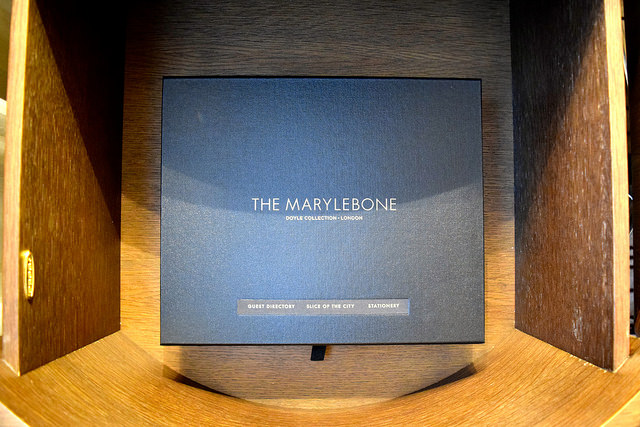 In Room Guide at The Marylebone Hotel, London | www.rachelphipps.com @rachelphipps