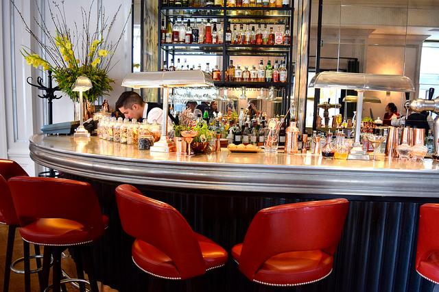 108 Bar at The Marylebone Hotel, London | www.rachelphipps.com @rachelphipps