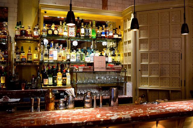 Bar at The Chiltern Firehouse   www.rachelphipps.com @rachelphipps