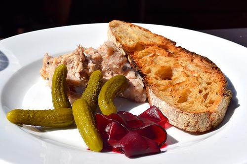 Pork Rillette at Beagle, Hoxton | www.rachelphipps.com @rachelphipps