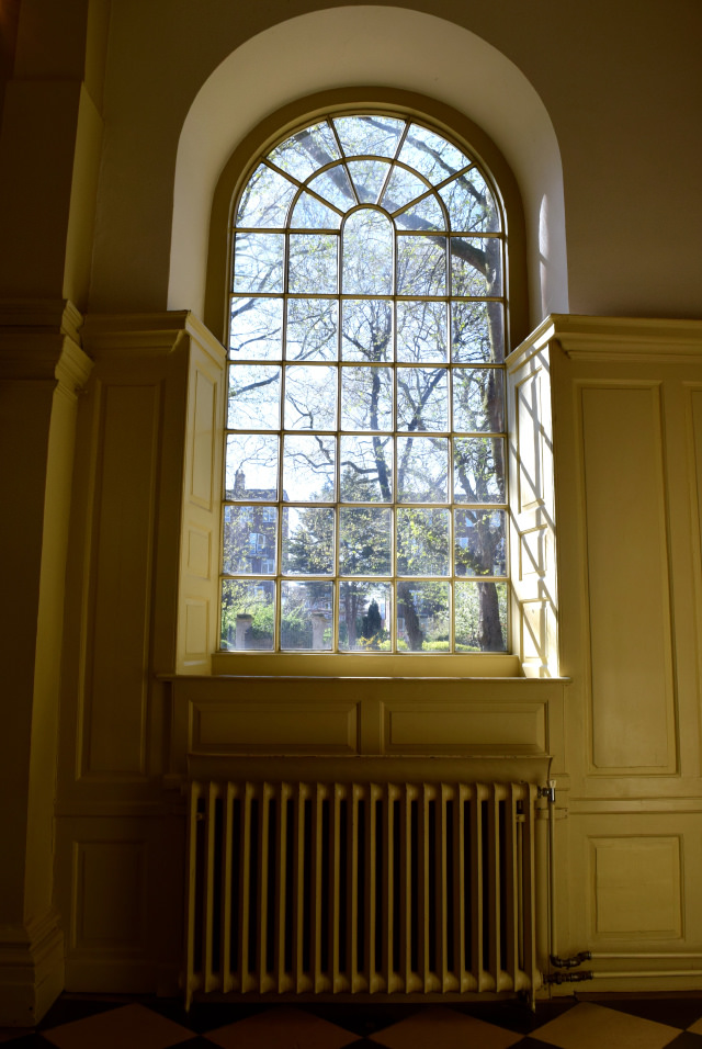 Chapel Window at The Geffryes Museum of the Home | www.rachelphipps.com @rachelphipps