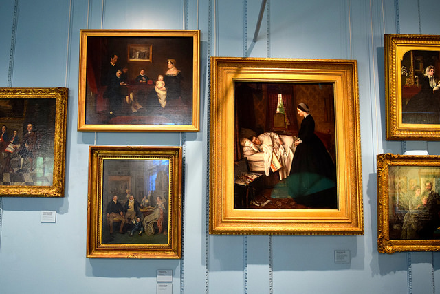 Artwork at The Geffrye Museum of the Home | www.rachelphipps.com @rachelphipps