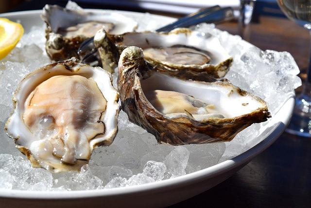 Oysters at Beagle | www.rachelphipps.com @rachelphipps