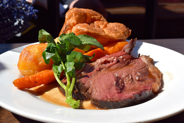 Sunday Roast Beef at Beagle, Hoxton | www.rachelphipps.com @rachelphipps