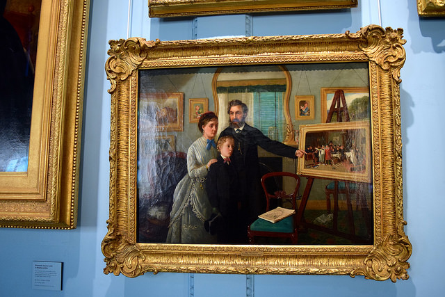 Paintings at The Geffrye Museum of the Home | www.rachelphipps.com @rachelphipps