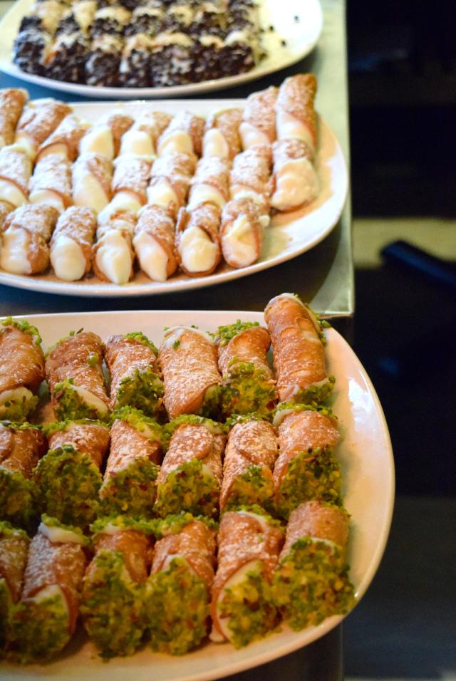Cannoli at Firezza, Soho   www.rachelphipps.com @rachelphipps