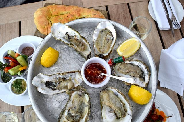 Lunch at The Boundary Rooftop | www.rachelphipps.com @rachelphipps