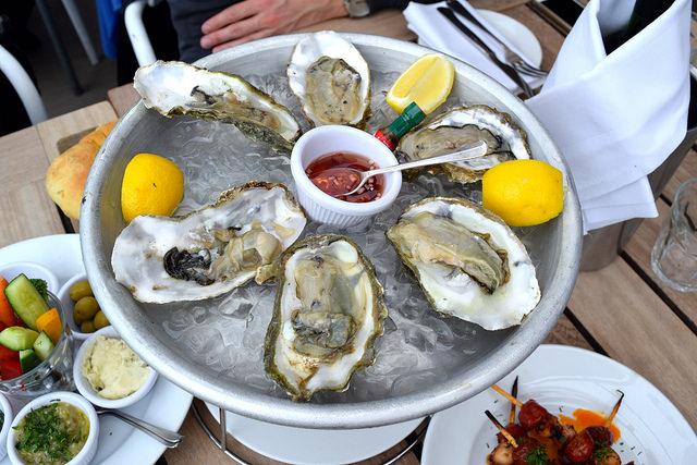 Lunch at The Boundary Rooftop, Shoreditch | www.rachelphipps.com @rachelphipps