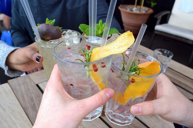 Drinks at The Boundary Rooftop, Shoreditch | www.rachelphipps.com @rachelphipps