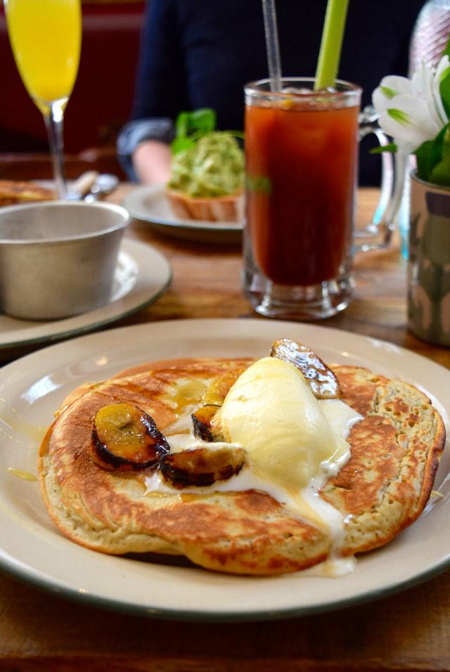 Pancakes at Mac & Wild, Liverpool Street | www.rachelphipps.com @rachelphipps