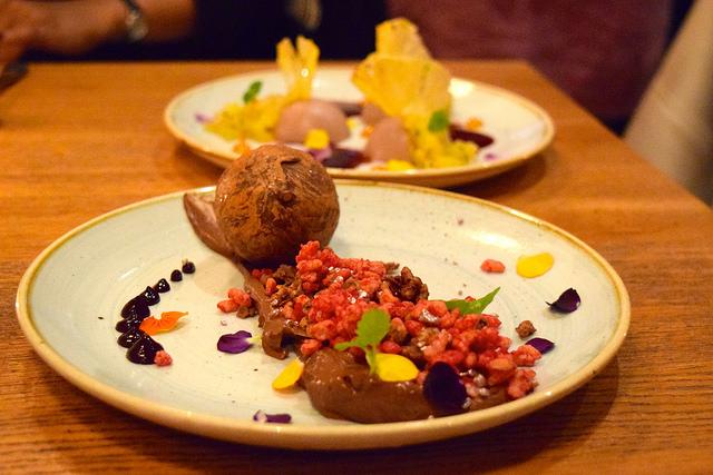 Beautiful Desserts at Casita Andina, Soho | www.rachelphipps.com @rachelphipps