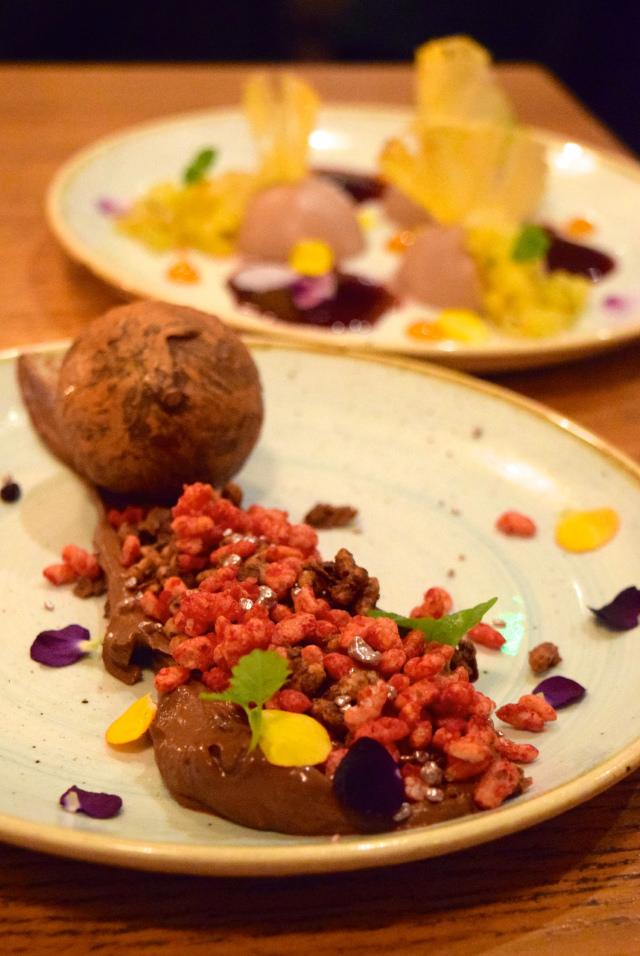 Dessert at Casita Andina, Soho | www.rachelphipps.com @rachelphipps