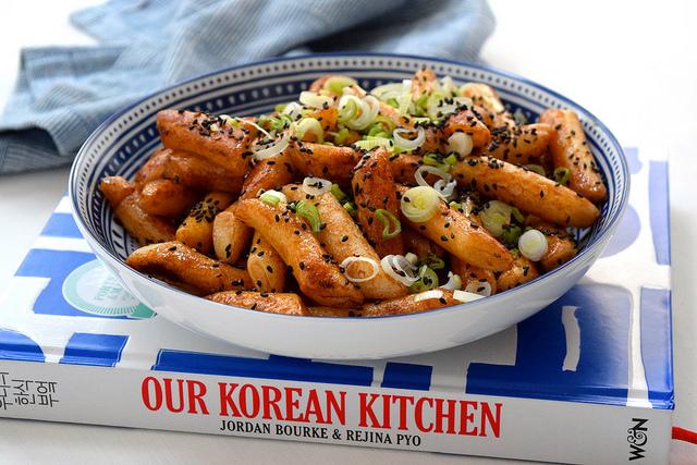 Soy Rice Cakes from Our Korean Kitchen | www.rachelphipps.com @rachelphipps