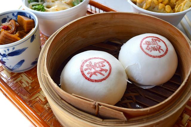 Bao Buns at Bun House, Soho | www.rachelphipps.com @rachelphipps