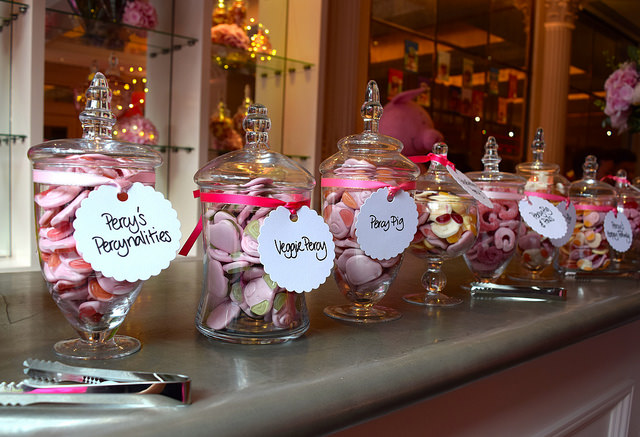 Pick 'n' Mix at Percy Pig's 25th Birthday Party | www.rachelphipps.com @rachelphipps