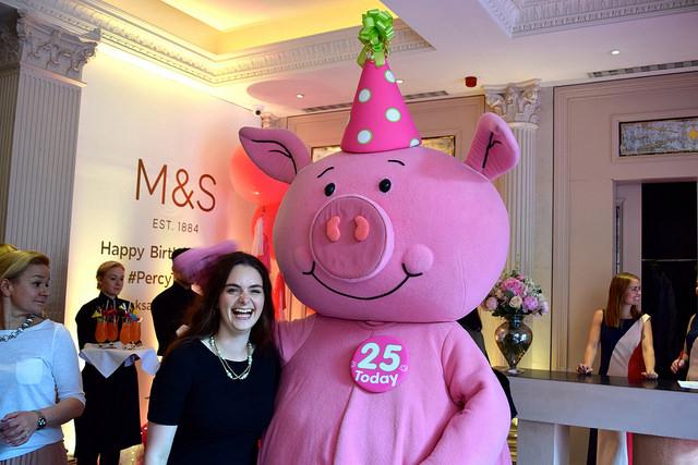 Percy Pig's 25th Birthday Party | www.rachelphipps.com @rachelphipps