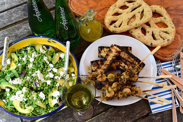 Summer Barbecue with Appletiser | www.rachelphipps.com @rachelphipps