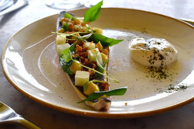Mackerel at Duck & Waffle | www.rachelphipps.com @rachelphipps
